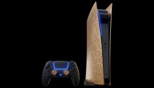 Caviar launches a gold version of the PlayStation 5